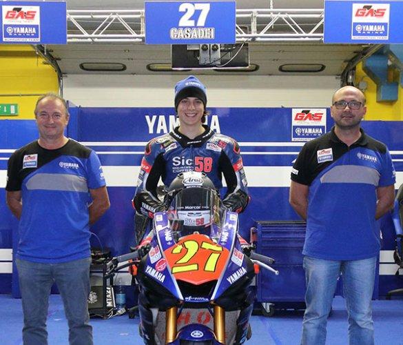 CIV 2019 - Mattia Casadei confermato con il Gas Racing Team