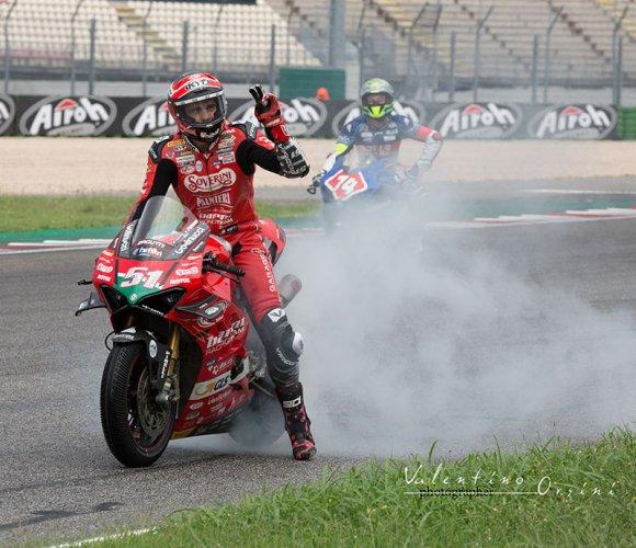 CIV Misano Gara 2 Michele Pirro-Ducati, sono sei su sei