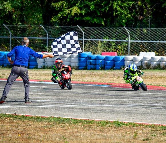 Finale Campionato Italiano Minimoto al Cremona Circuit