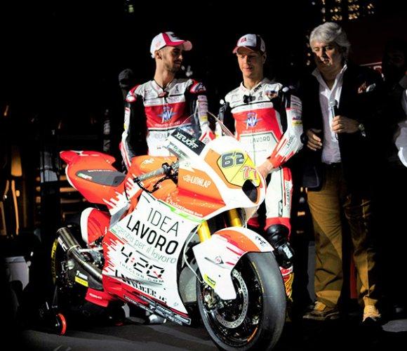 Moto2 | Presentata a Milano la nuova livrea del MV Agusta Forward Racing Team