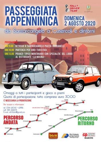 Il Rally Driver Team organizza la 'Passeggiata Appenninica'