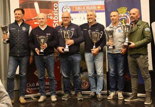 All'equipaggio Fontanella-Malta la settima edizione di Targa AC Bologna