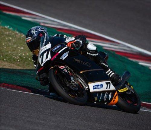 Weekend positivo con epilogo sfortunato l'Angel Nieto team -MTR e Raffaele Fusco a misano