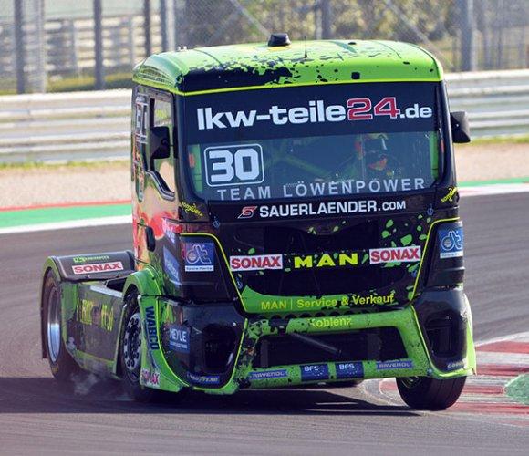 Grande entusiasmo per la prima giornata del Misano grand prix truck