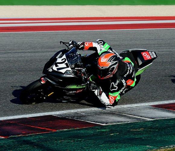 SS300, a Misano in gara 2 vince ancora Rovelli