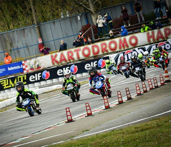 Secondo appuntamento Campionato Interregionale Minimoto e Trofeo Marco Simoncelli