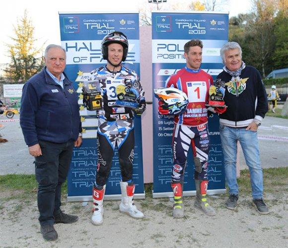 Campionato Italiano Trial: Grattarola (TR1) e Marchetti (TR2) in pole a San Gemini