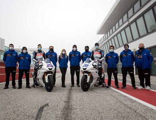 Federico Fuligni con il VFT Racing nel Mondiale Supersport 2021