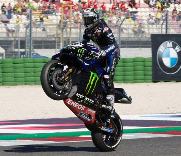 GP Misano - E' di Vinales la pole-position
