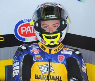 Caricasulo si assicura la pole per la gara di Supersport valevole per il titolo, in prima fila con lui anche Krummenac