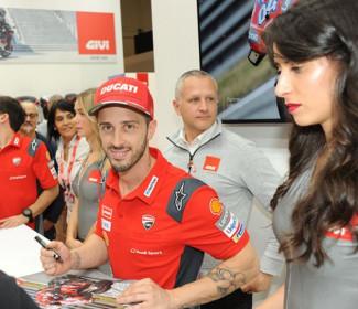 MotoGP Eicma Ducati – Andrea Dovizioso ha parlato ai microfoni di Sky Sport durante il salone Eicma di Milano.