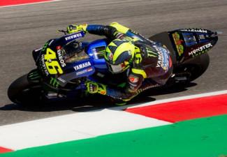 GP San Marino - Quarto tempo per Valentino Rossi