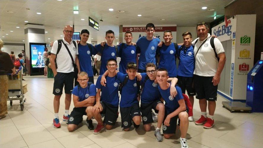 La nazionale maschile under 16 alla Summer Cup di Lousa, in Portogallo