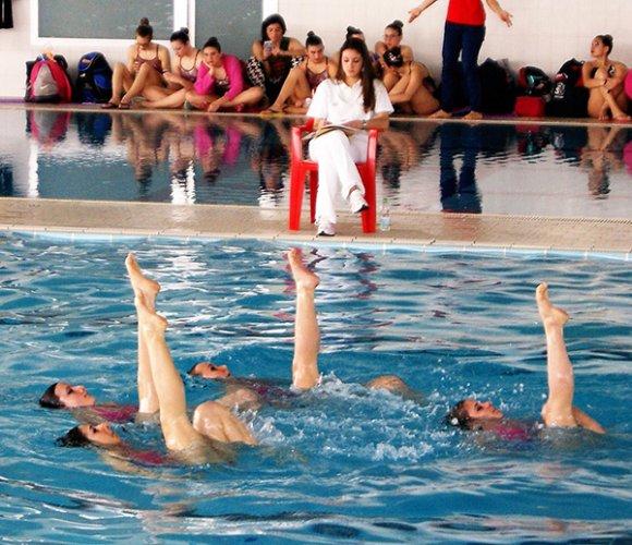 Nuoto artistico: tanto allenamento per le ragazze del Centro Sub Nuoto Faenza in vista di una stagione intensa.