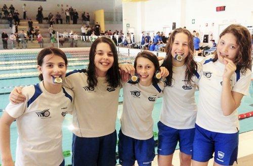 Ottime prove dei nuotatori Esordienti del Centro Sub Nuoto Club 2000 al Gran Premio dell'Emilia-Romagna