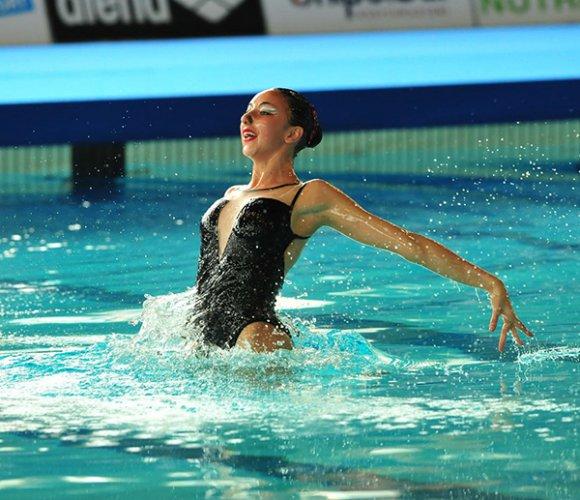Gaia Gardelli della RNR Sincro ai campionati italiani junior