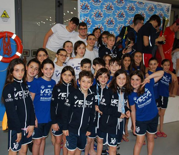 Nuoto, Schiavoni Vela Ancona super al meeting di San Marino