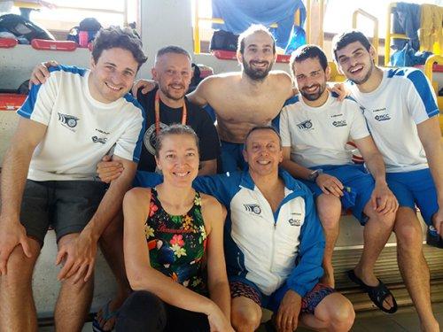 Meeting di Lugo dominato dalle syncronette del nuoto artistico.