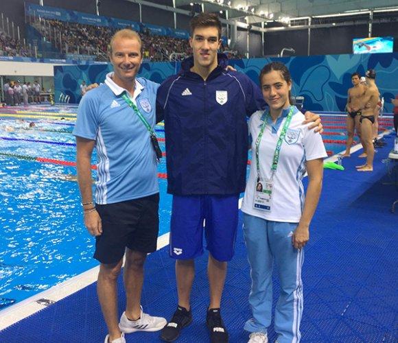 Giochi Olimpici Giovanili tra alti e bassi per il nuoto sammarinese