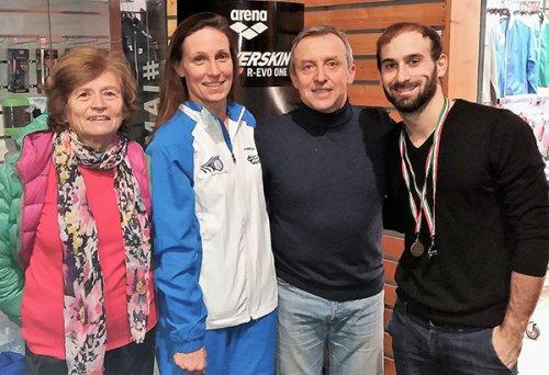 Nuoto Master: i faentini tornano da Riccione con sei medaglie.