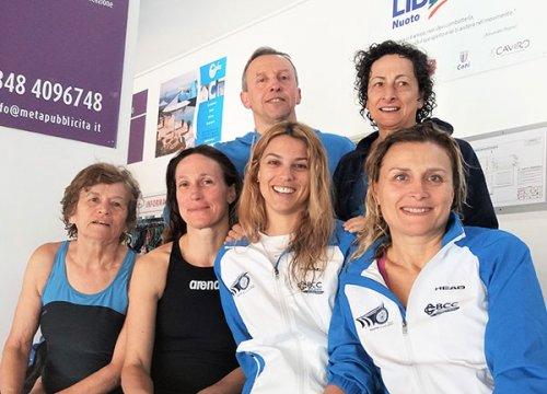 Centro Sub Nuoto Faenza: tante medaglie d'oro per i nuotatori Master a Forlì