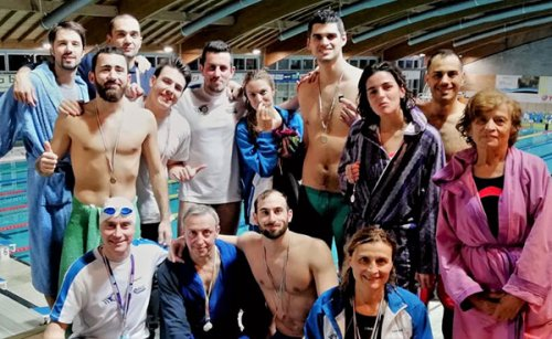 Centro Sub Nuoto Faenza: spedizione di successo a Riccione per i nuotatori Master