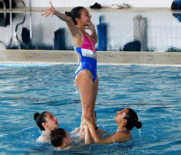 I nuotatori Master del centro sub nuoto club 2000 faenza in evidenza nella prima giornata dei Campionati Regionali,