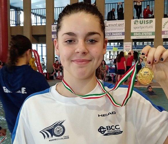 Nicole Scalini (Centro Sub Nuoto Faenza) brilla al Trofeo Città di Imola nei 100 e 200 farfalla