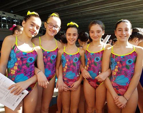 Centro Sub Nuoto Faenza: un terzo posto e un podio sfiorato per le syncronette a Casalecchio