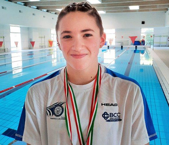 Gaia Gionta, Penelope Sangiorgi e Michele Busa si coprono d'oro al Campionato regionale in vasca corta