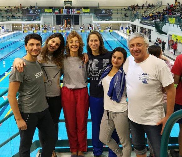 La Polisportiva Riccione al 5° posto dei Campionati Italiani Uisp di Nuoto Master