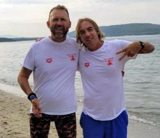 Cristian Lucarelli 4° ai Campionati Italiani FINP di nuoto in Acque Libere
