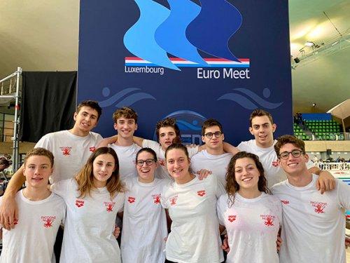 Soddisfazioni per il Nuoto Polisportiva Riccione