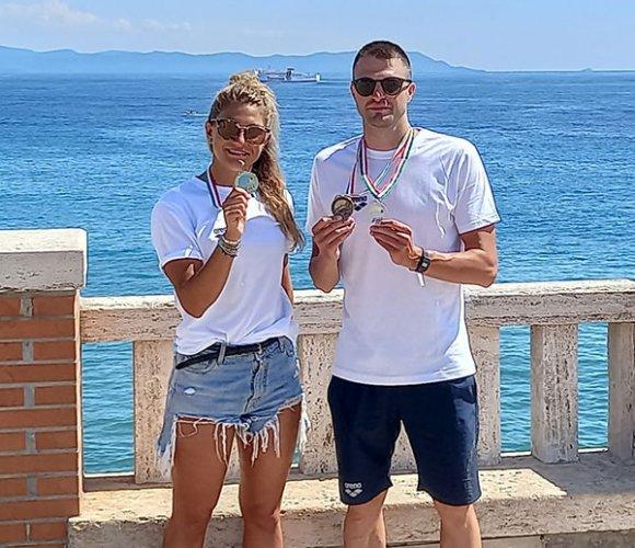 Oro, argenti e bronzi per i nuotatori Master della Polisportiva Riccione ai Campionati Italiani di Piombino