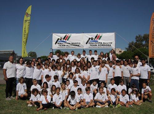 Storico terzo posto regionale della Rinascita nuoto team RomagNa