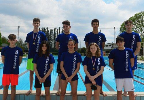 Centro Nuoto Copparo sugli scudi