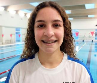 Gaia Gionta (Centro Sub Nuoto Faenza) si qualifica per i Criteria nazionali giovanili.
