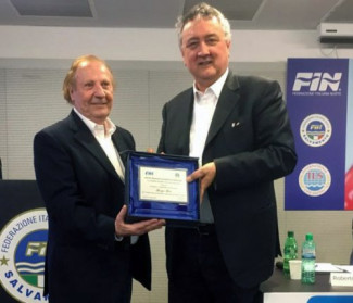Stella d'Oro al Merito Sportivo a Giorgio Gori, vice presidente della Pol. Comunale Riccione