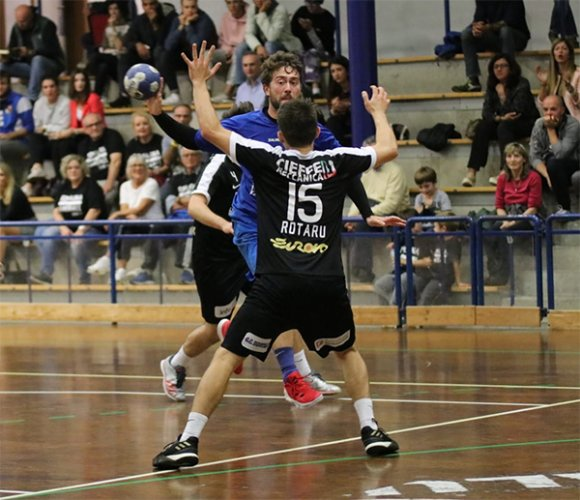 Romagna handball vs Rapid Nonantola 25-25 (p.t.13-14)