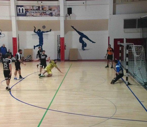 Pallamano Camerano - Romagna handball 18-21 (7-10 pt)