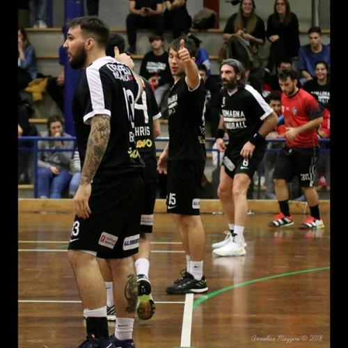 Serie A2 - Modena vs Romagna Handball 18-24 (p.t. 9-14)