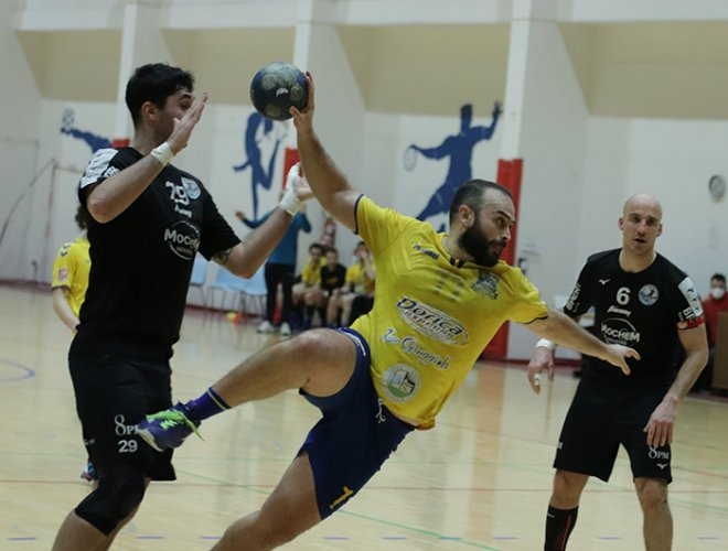 Pallamano Camerano vs Parma 31-17 (9-5 pt)