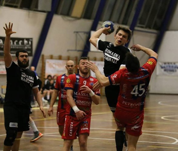 Rapid Nonantola vs Romagna handball 27-20 (11-10)