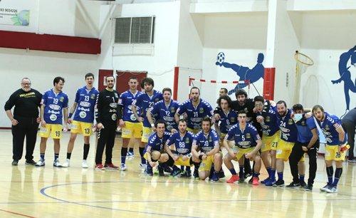 Pallamano Camerano vs Verdeazzurro Sassari 28-26 (14-11 pt)