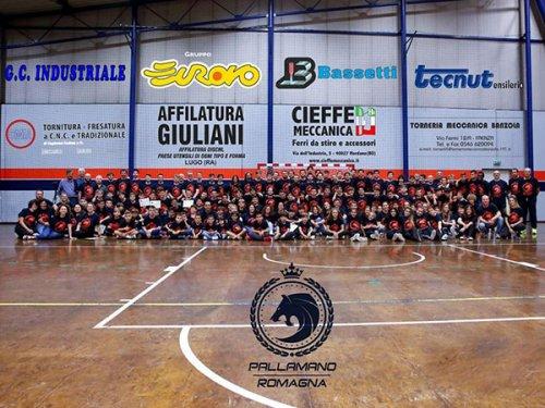 Pallamano: Il Romagna ha il vento in poppa tra open day e squadre giovanili