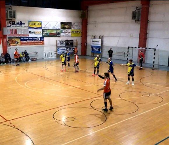 San Vito Marano vs Pallamano Romagna 23-26 (p.t. 16-14)
