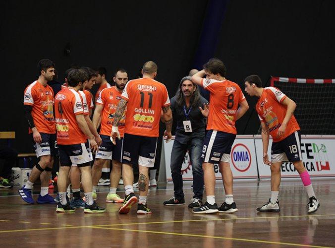 Serie A2 - Oderzo vs Pallamano Romagna 18-22 (p.t. 7-12)