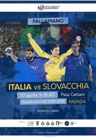 Pallamano - Presentazione di Italia vs Slovacchia