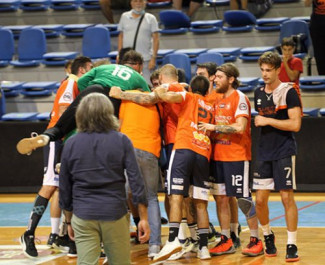 Pallamano Romagna vs Lions Teramo 33-31 (p.t. 16-16)