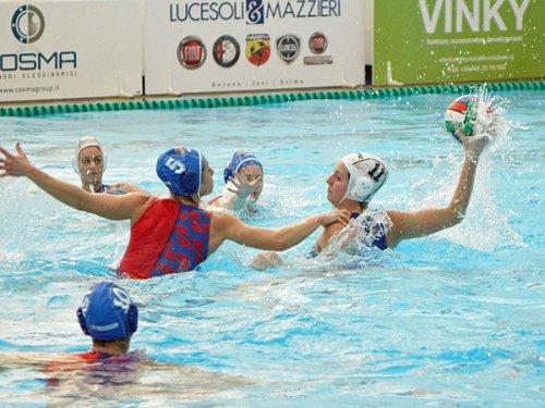 Pallanuoto A2 femminile -  Cosma Vela a Catania contro la Torre del Grifo di Giusi Malato
